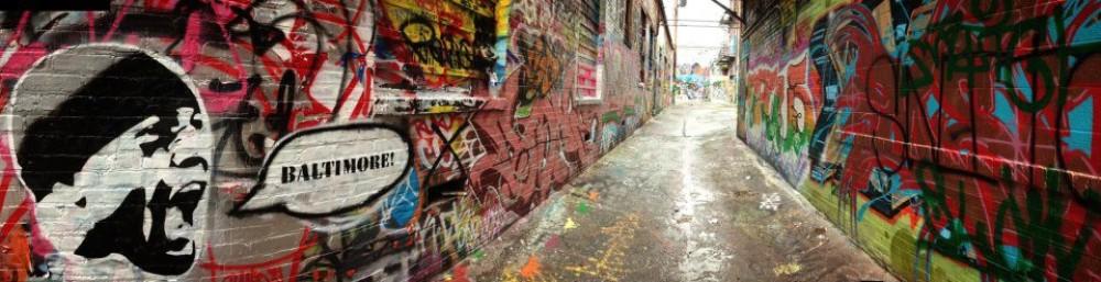 Baltimore's Graffiti Alley